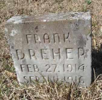DREHER, FRANK - Pulaski County, Arkansas | FRANK DREHER - Arkansas Gravestone Photos
