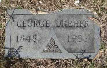 DREHER, GEORGE F - Pulaski County, Arkansas | GEORGE F DREHER - Arkansas Gravestone Photos