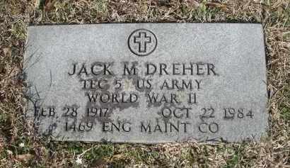 DREHER (VETERAN WWII), JACK MORRIS - Pulaski County, Arkansas | JACK MORRIS DREHER (VETERAN WWII) - Arkansas Gravestone Photos