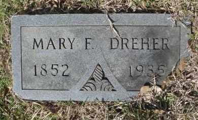 THOMAS DREHER, MARY FRANCES - Pulaski County, Arkansas | MARY FRANCES THOMAS DREHER - Arkansas Gravestone Photos
