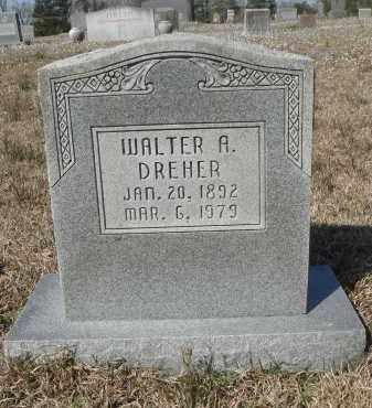 DREHER, WALTER ALBERT - Pulaski County, Arkansas | WALTER ALBERT DREHER - Arkansas Gravestone Photos