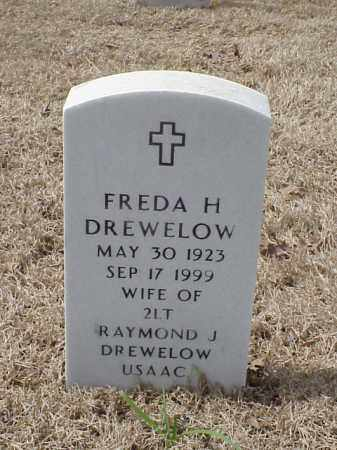 DREWELOW, FREDA H - Pulaski County, Arkansas | FREDA H DREWELOW - Arkansas Gravestone Photos