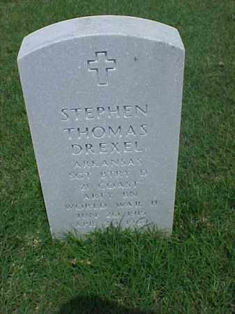 DREXEL (VETERAN WWII), STEPHEN THOMAS - Pulaski County, Arkansas | STEPHEN THOMAS DREXEL (VETERAN WWII) - Arkansas Gravestone Photos