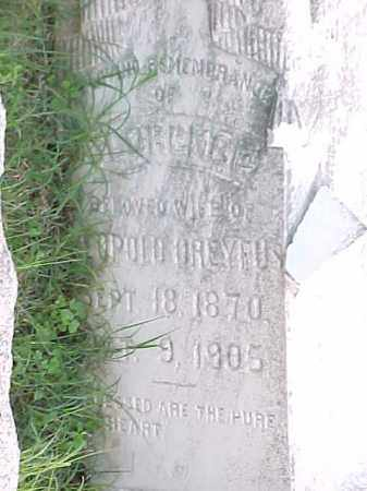 DREYFUS, LORENE  (CLOSE UP) - Pulaski County, Arkansas | LORENE  (CLOSE UP) DREYFUS - Arkansas Gravestone Photos
