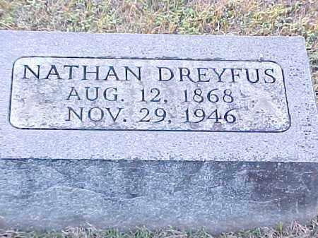 DREYFUS, NATHAN - Pulaski County, Arkansas   NATHAN DREYFUS - Arkansas Gravestone Photos