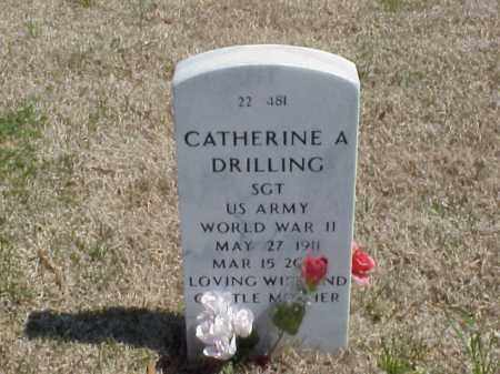 DRILLING (VETERAN WWII), CATHERINE A - Pulaski County, Arkansas | CATHERINE A DRILLING (VETERAN WWII) - Arkansas Gravestone Photos