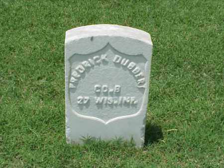 DUBBERT (VETERAN UNION), FREDRICK - Pulaski County, Arkansas | FREDRICK DUBBERT (VETERAN UNION) - Arkansas Gravestone Photos