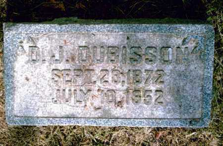 DUBISSON, D. J. - Pulaski County, Arkansas | D. J. DUBISSON - Arkansas Gravestone Photos