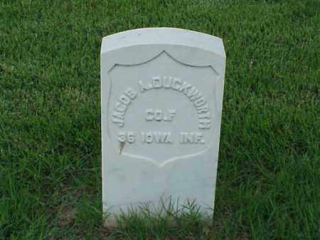 DUCKWORTH (VETERAN UNION), JACOB A - Pulaski County, Arkansas | JACOB A DUCKWORTH (VETERAN UNION) - Arkansas Gravestone Photos