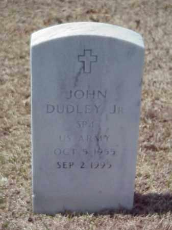 DUDLEY, JR (VETERAN), JOHN - Pulaski County, Arkansas | JOHN DUDLEY, JR (VETERAN) - Arkansas Gravestone Photos