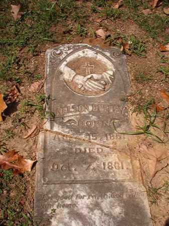 DUFFEY, NELSON - Pulaski County, Arkansas | NELSON DUFFEY - Arkansas Gravestone Photos