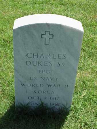 DUKES, SR (VETERAN 2 WARS), CHARLES - Pulaski County, Arkansas | CHARLES DUKES, SR (VETERAN 2 WARS) - Arkansas Gravestone Photos