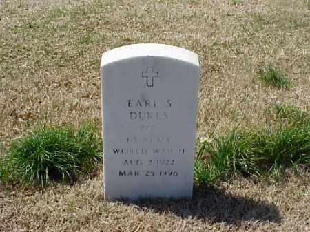 DUKES (VETERAN WWII), EARL S - Pulaski County, Arkansas | EARL S DUKES (VETERAN WWII) - Arkansas Gravestone Photos
