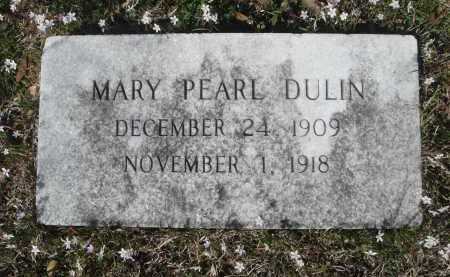 DULIN, MARY PEARL - Pulaski County, Arkansas | MARY PEARL DULIN - Arkansas Gravestone Photos