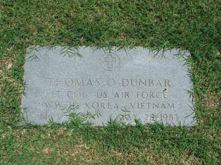 DUNBAR (VETERAN 3 WARS), THOMAS O - Pulaski County, Arkansas | THOMAS O DUNBAR (VETERAN 3 WARS) - Arkansas Gravestone Photos