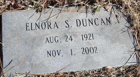 DUNCAN, ELNORA S. - Pulaski County, Arkansas   ELNORA S. DUNCAN - Arkansas Gravestone Photos