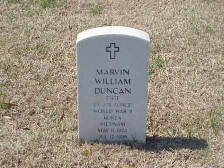 DUNCAN (VETERAN 3WARS), MARVIN WILLIAM - Pulaski County, Arkansas | MARVIN WILLIAM DUNCAN (VETERAN 3WARS) - Arkansas Gravestone Photos