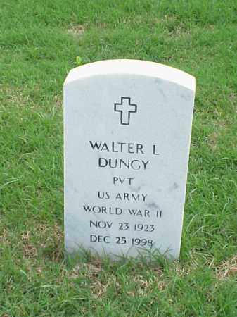 DUNGY (VETERAN WWII), WALTER L - Pulaski County, Arkansas | WALTER L DUNGY (VETERAN WWII) - Arkansas Gravestone Photos