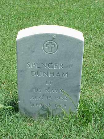 DUNHAM (VETERAN), SPENCER F - Pulaski County, Arkansas | SPENCER F DUNHAM (VETERAN) - Arkansas Gravestone Photos