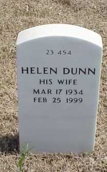 DUNN, HELEN - Pulaski County, Arkansas | HELEN DUNN - Arkansas Gravestone Photos
