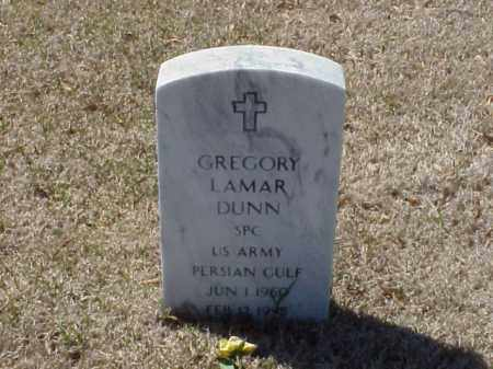 DUNN (VETERAN PGW), GREGORY LAMAR - Pulaski County, Arkansas | GREGORY LAMAR DUNN (VETERAN PGW) - Arkansas Gravestone Photos