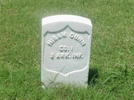 DUNN (VETERAN UNION), HIRAM - Pulaski County, Arkansas | HIRAM DUNN (VETERAN UNION) - Arkansas Gravestone Photos