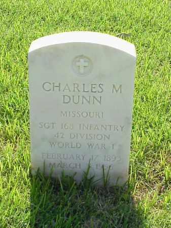 DUNN (VETERAN WWI), CHARLES M - Pulaski County, Arkansas | CHARLES M DUNN (VETERAN WWI) - Arkansas Gravestone Photos