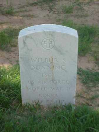 DUNNING (VETERAN 2 WARS), WILBUR S - Pulaski County, Arkansas | WILBUR S DUNNING (VETERAN 2 WARS) - Arkansas Gravestone Photos