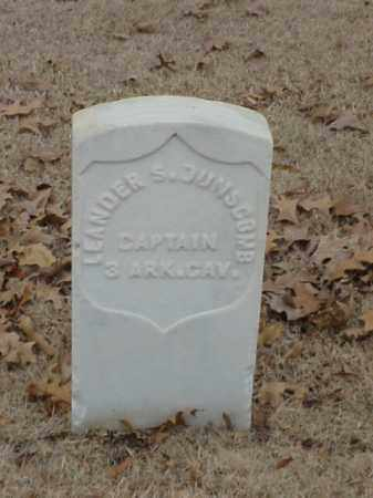 DUNSCOMB (VETERAN UNION), LEANDER S - Pulaski County, Arkansas | LEANDER S DUNSCOMB (VETERAN UNION) - Arkansas Gravestone Photos