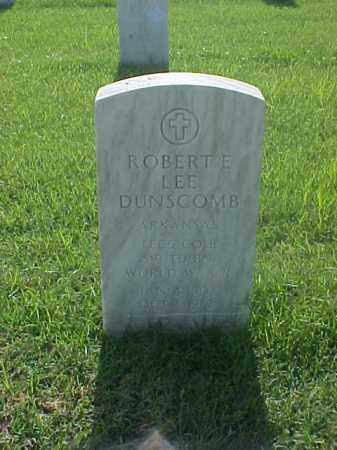 DUNSCOMB (VETERAN WWII), ROBERT E LEE - Pulaski County, Arkansas | ROBERT E LEE DUNSCOMB (VETERAN WWII) - Arkansas Gravestone Photos