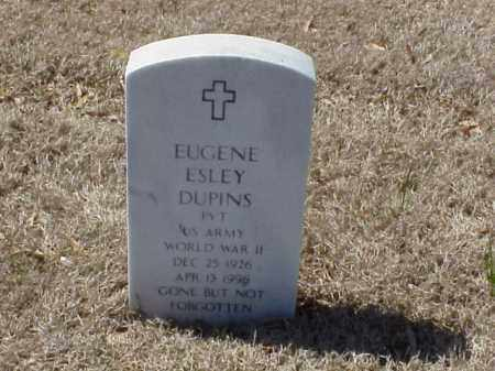 DUPINS (VETERAN WWII), EUGENE ESLEY - Pulaski County, Arkansas | EUGENE ESLEY DUPINS (VETERAN WWII) - Arkansas Gravestone Photos