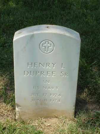 DUPREE, SR (VETERAN 2 WARS), HENRY L - Pulaski County, Arkansas | HENRY L DUPREE, SR (VETERAN 2 WARS) - Arkansas Gravestone Photos