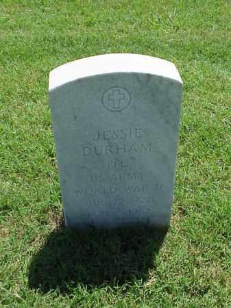 DURHAM (VETERAN WWII), JESSIE - Pulaski County, Arkansas | JESSIE DURHAM (VETERAN WWII) - Arkansas Gravestone Photos