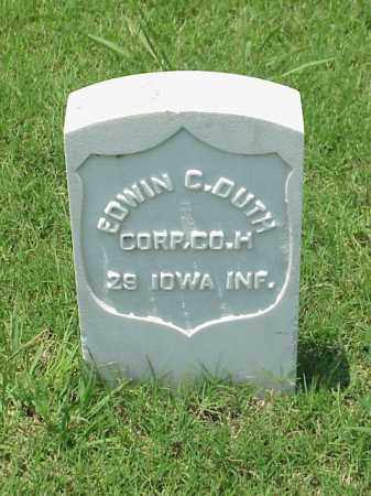 DUTH (VETERAN UNION), EDWIN C - Pulaski County, Arkansas | EDWIN C DUTH (VETERAN UNION) - Arkansas Gravestone Photos