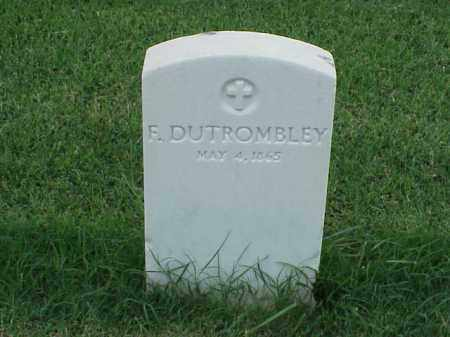 DUTROMBLEY, F - Pulaski County, Arkansas | F DUTROMBLEY - Arkansas Gravestone Photos