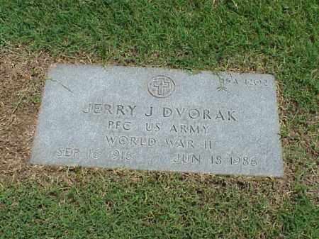 DVORAK (VETERAN WWII), JERRY J - Pulaski County, Arkansas | JERRY J DVORAK (VETERAN WWII) - Arkansas Gravestone Photos