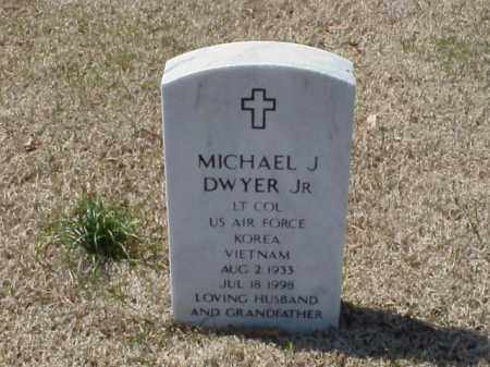 DWYER, JR (VETERAN 2 WARS), MICHAEL J - Pulaski County, Arkansas | MICHAEL J DWYER, JR (VETERAN 2 WARS) - Arkansas Gravestone Photos