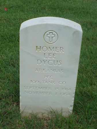 DYCUS (VETERAN), HOMER LEE - Pulaski County, Arkansas | HOMER LEE DYCUS (VETERAN) - Arkansas Gravestone Photos