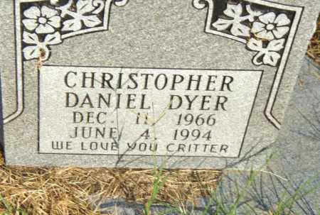 DYER, CHRISTOPHER DANIEL - Pulaski County, Arkansas | CHRISTOPHER DANIEL DYER - Arkansas Gravestone Photos