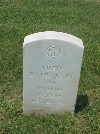 DYER, JR III (VETERAN VIET), FRED - Pulaski County, Arkansas | FRED DYER, JR III (VETERAN VIET) - Arkansas Gravestone Photos