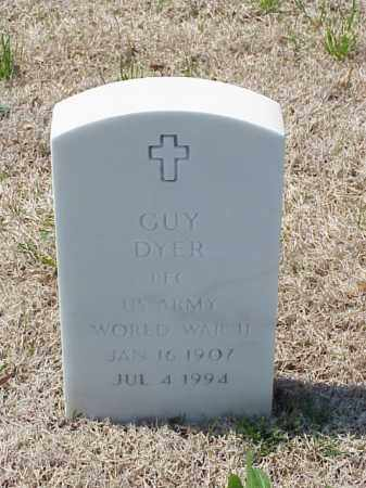 DYER (VETERAN WWII), GUY - Pulaski County, Arkansas | GUY DYER (VETERAN WWII) - Arkansas Gravestone Photos