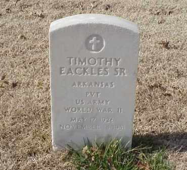 EACKLES, SR (VETERAN WWII), TIMOTHY - Pulaski County, Arkansas | TIMOTHY EACKLES, SR (VETERAN WWII) - Arkansas Gravestone Photos