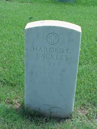EACKLES (VETERAN VIET), HAROLD G - Pulaski County, Arkansas | HAROLD G EACKLES (VETERAN VIET) - Arkansas Gravestone Photos