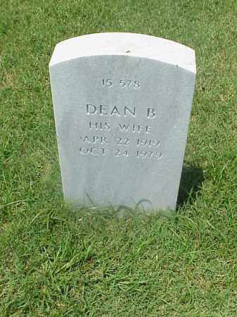 EARLS, DEAN B. - Pulaski County, Arkansas | DEAN B. EARLS - Arkansas Gravestone Photos