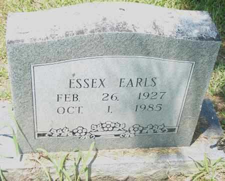 EARLS, ESSES - Pulaski County, Arkansas   ESSES EARLS - Arkansas Gravestone Photos