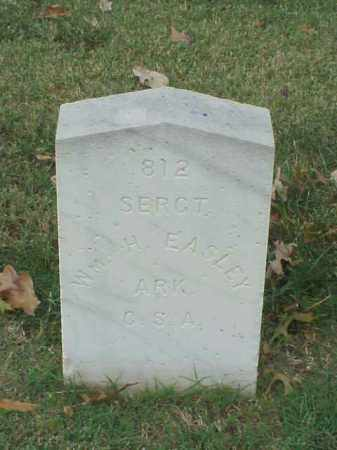 EASLEY (VETERAN CSA), WILLIAM H - Pulaski County, Arkansas | WILLIAM H EASLEY (VETERAN CSA) - Arkansas Gravestone Photos