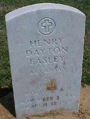 EASLEY (VETERAN WWII), HENRY DAYTON - Pulaski County, Arkansas | HENRY DAYTON EASLEY (VETERAN WWII) - Arkansas Gravestone Photos
