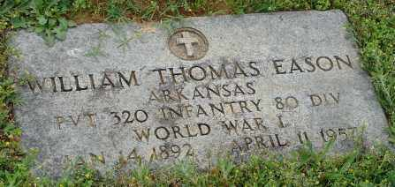 EASON (VETERAN WWI), WILLIAM THOMAS - Pulaski County, Arkansas | WILLIAM THOMAS EASON (VETERAN WWI) - Arkansas Gravestone Photos