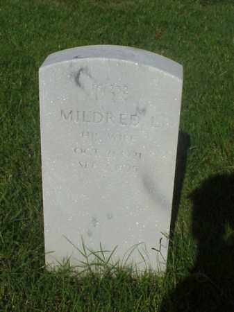 EAST, MILDRED - Pulaski County, Arkansas | MILDRED EAST - Arkansas Gravestone Photos