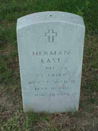 EAST (VETERAN WWII), HERMAN - Pulaski County, Arkansas | HERMAN EAST (VETERAN WWII) - Arkansas Gravestone Photos